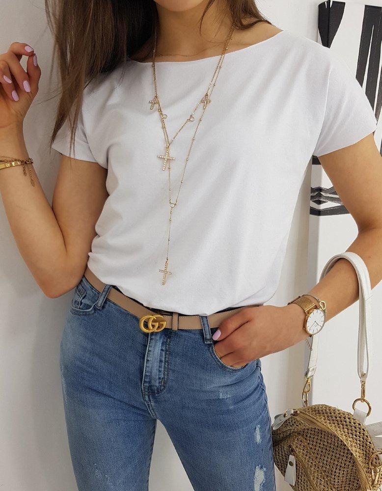 T-shirt damski MORENO biały RY1532