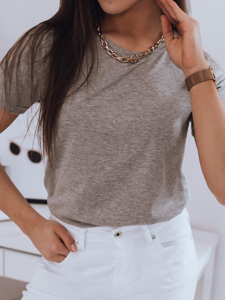 T-shirt damski MAYLA jasnoszary Dstreet RY1624