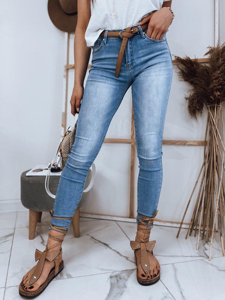 Spodnie damskie jeansowe niebieskie ROSALIA Dstreet UY0850