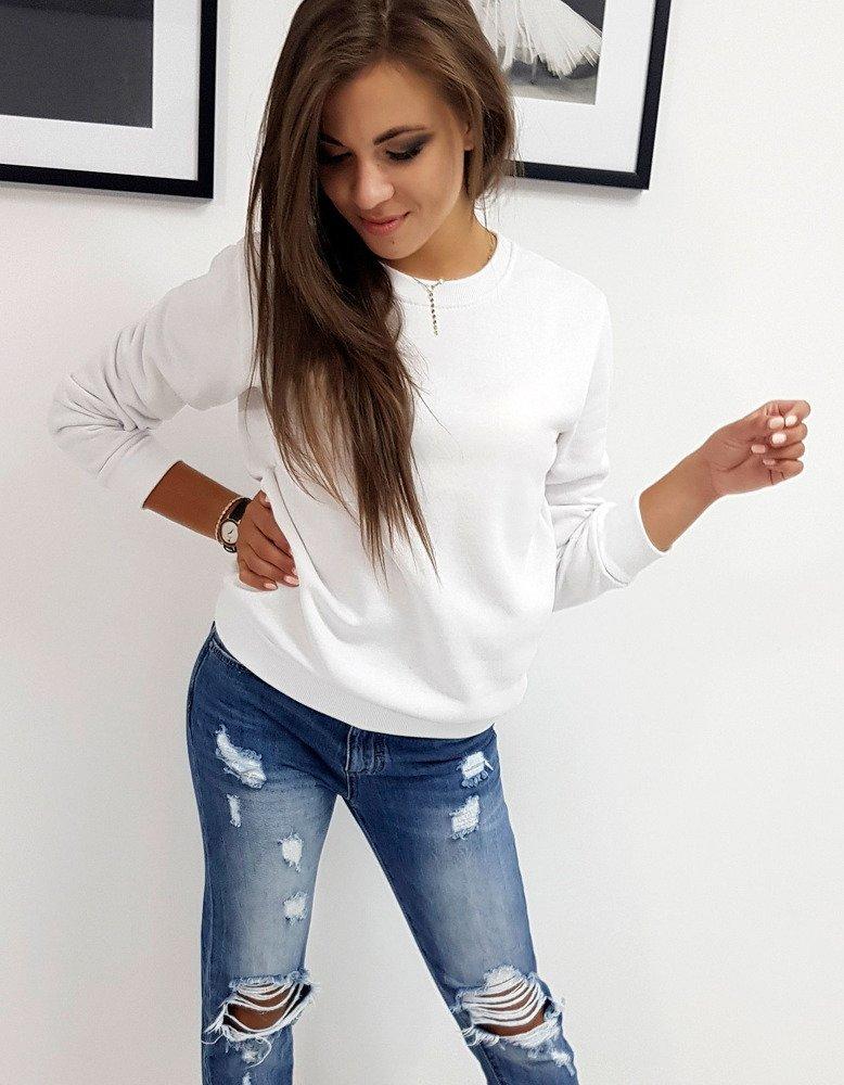 Bluza damska FASHION II biała BY0148