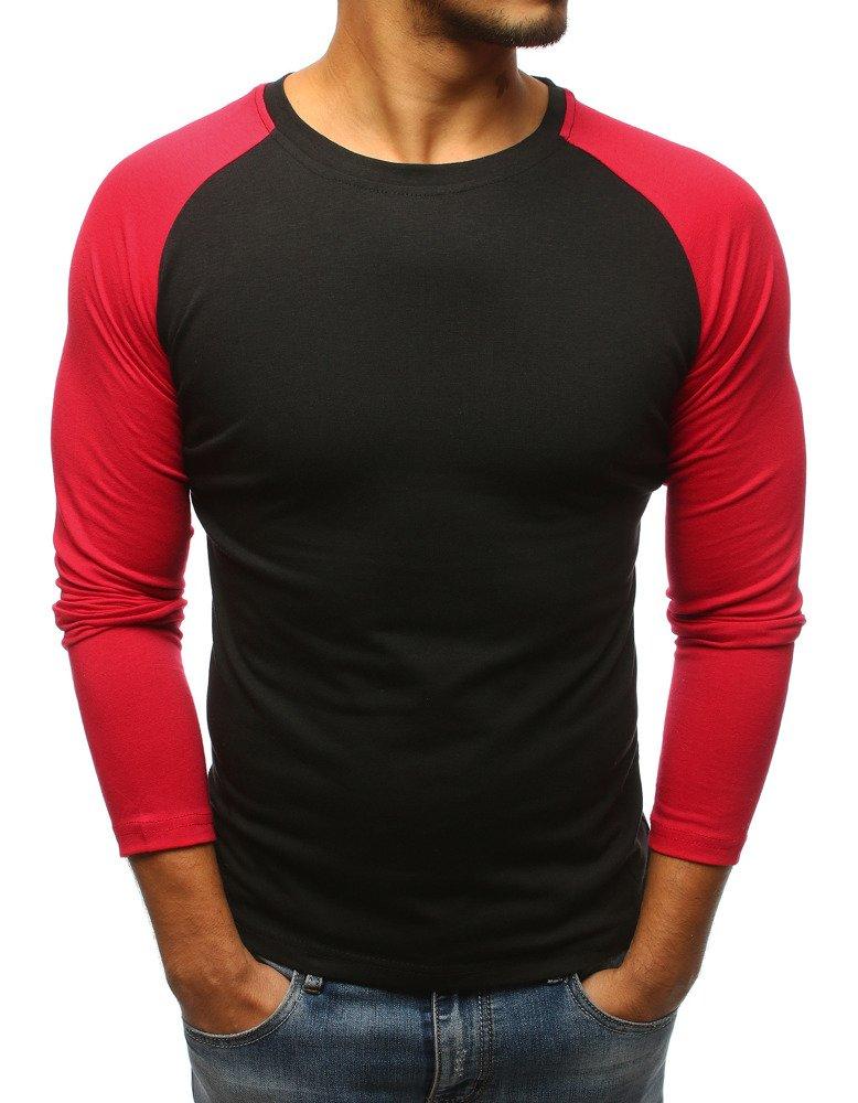 Tričko s dlhým rukávom čierne