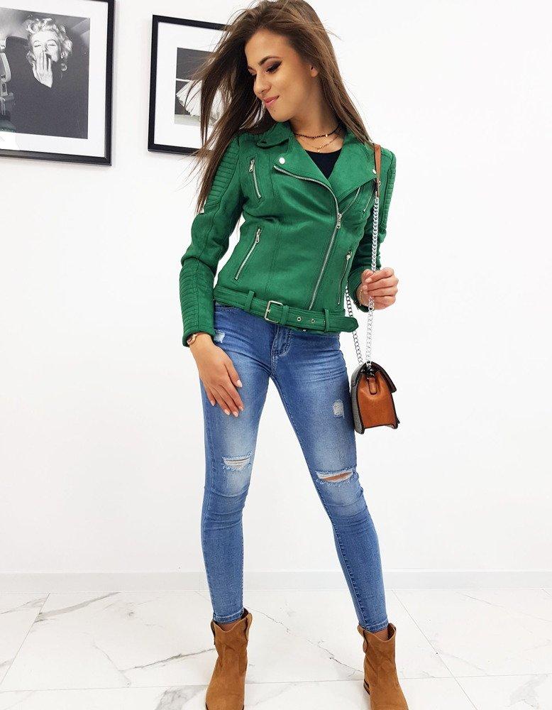 Kurtka damska zielona TY0561