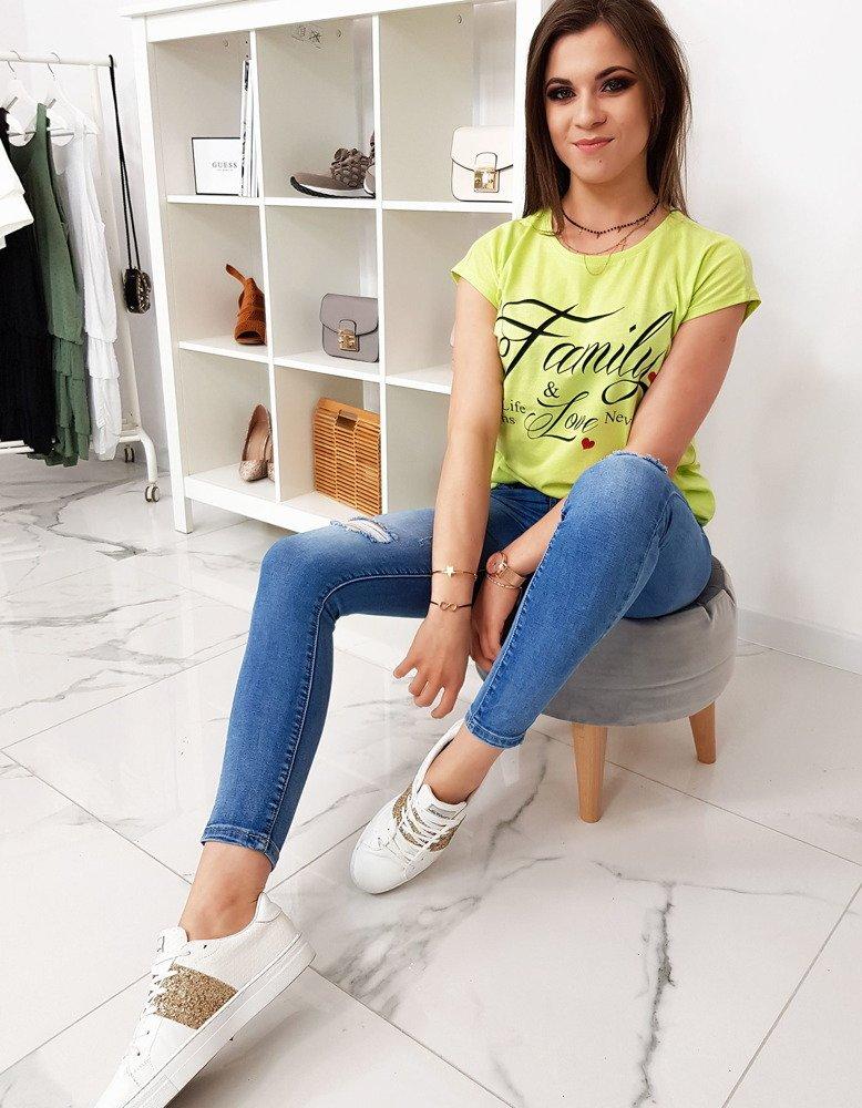 Bavlnené dámske tričko (ry1010)
