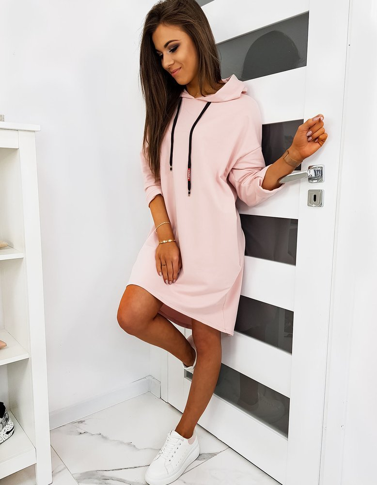 Ružové športové šaty