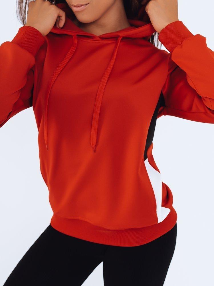 Bluza damska dresowa GIM czerwona Dstreet BY0935