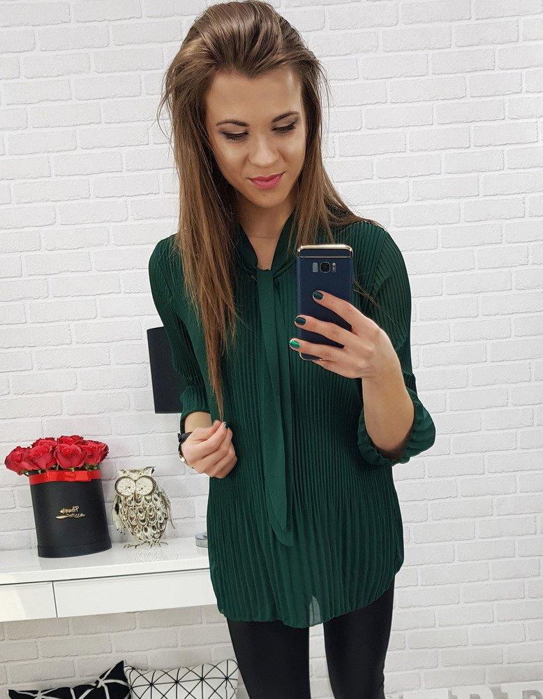 Bluzka damska GRUMOSSO zielona (ry0509)