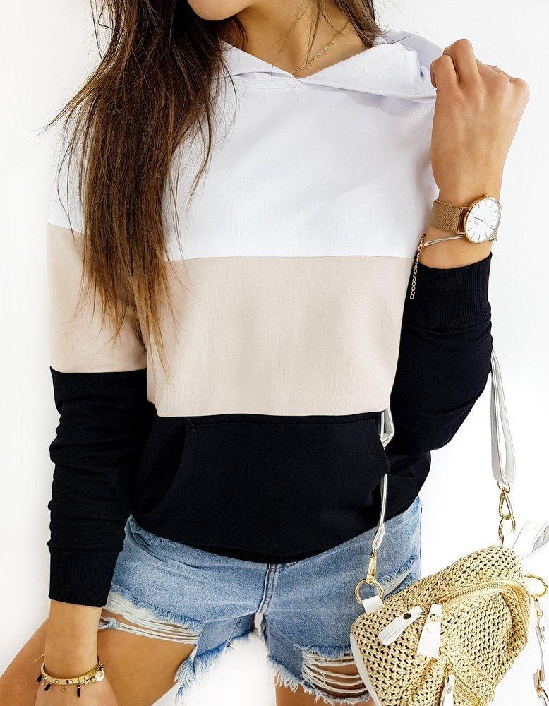 Bluza damska TRIOHOOD biała BY0371