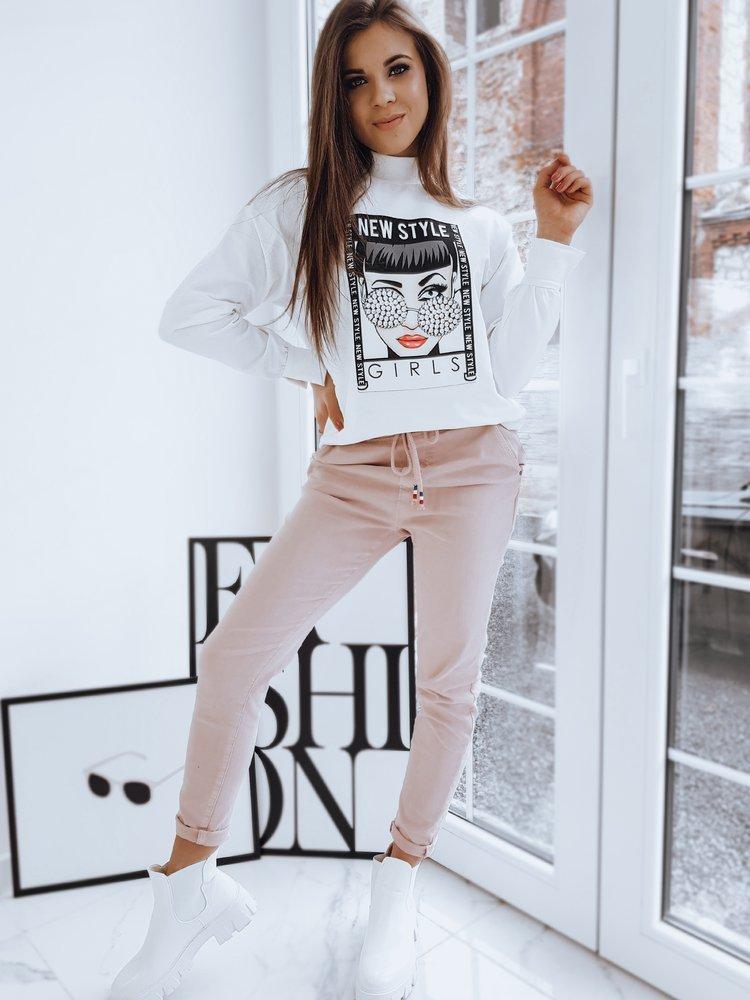 Bluza damska RONNIE ecru Dstreet BY0725