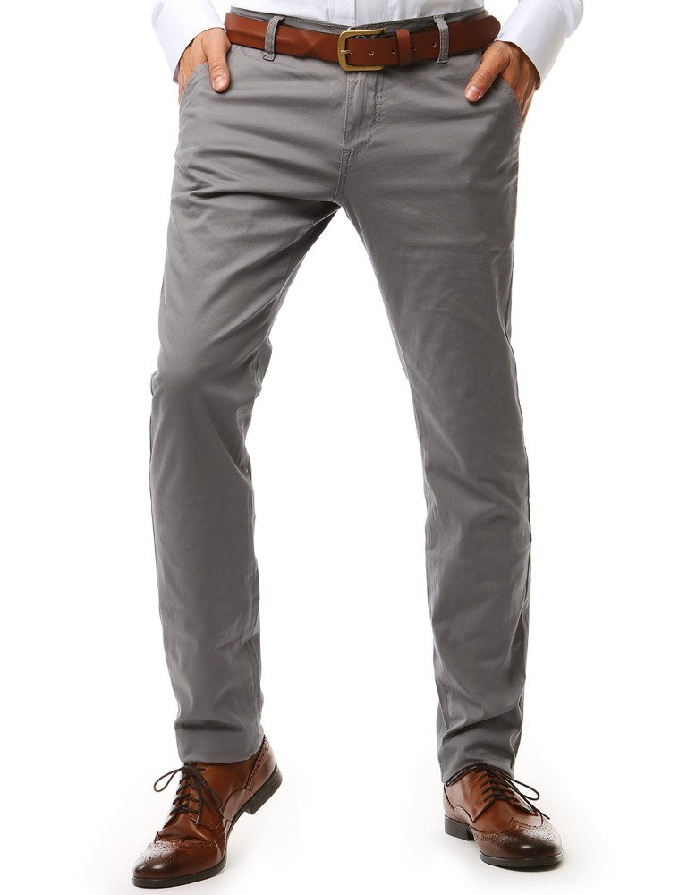 Pánske nohavice sivé