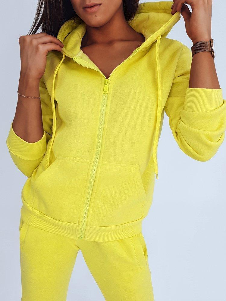 Bluza damska VICTORIA żółta BY0292