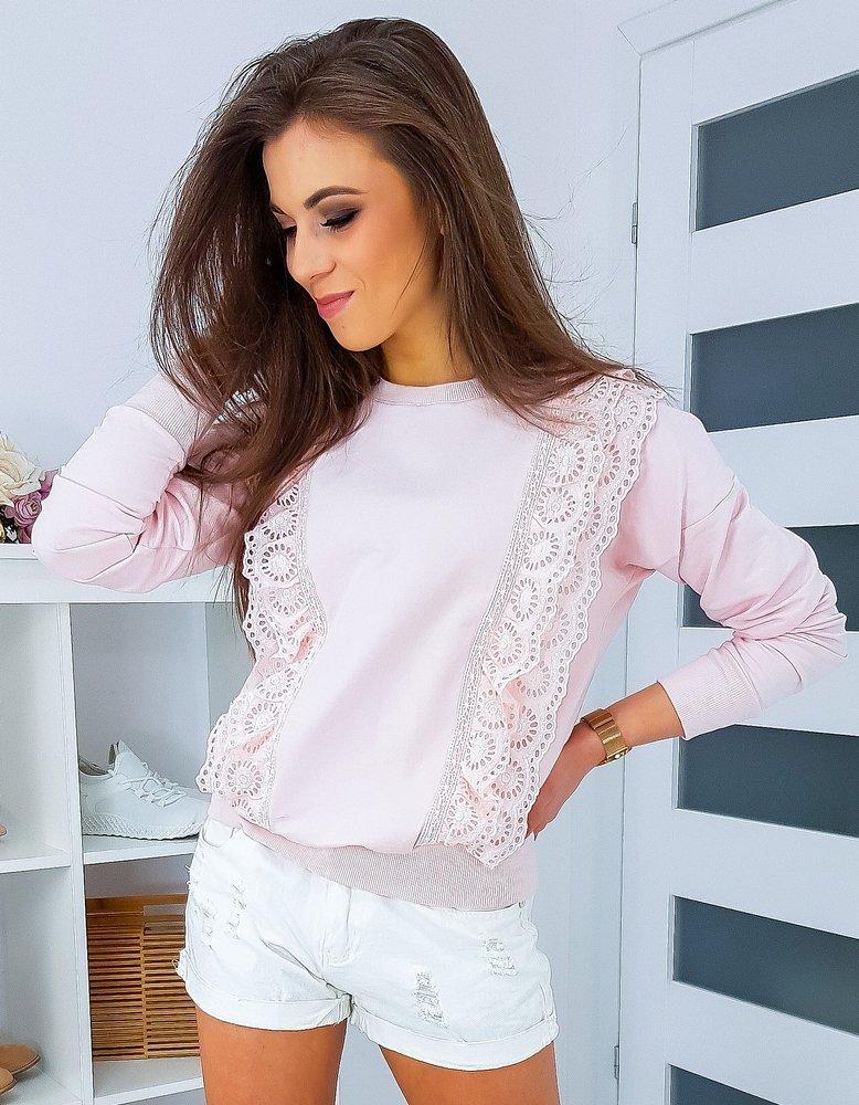 Bluza damska CORMIN różowa BY0341