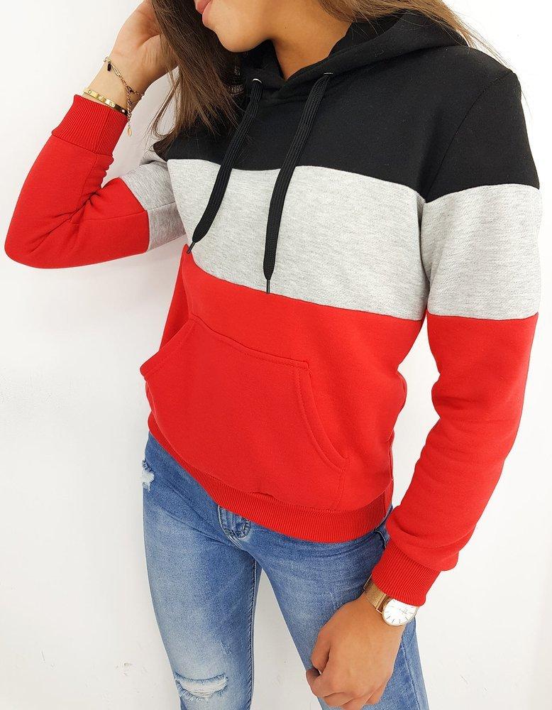 Bluza damska TRIO LOOK czerwona BY0414