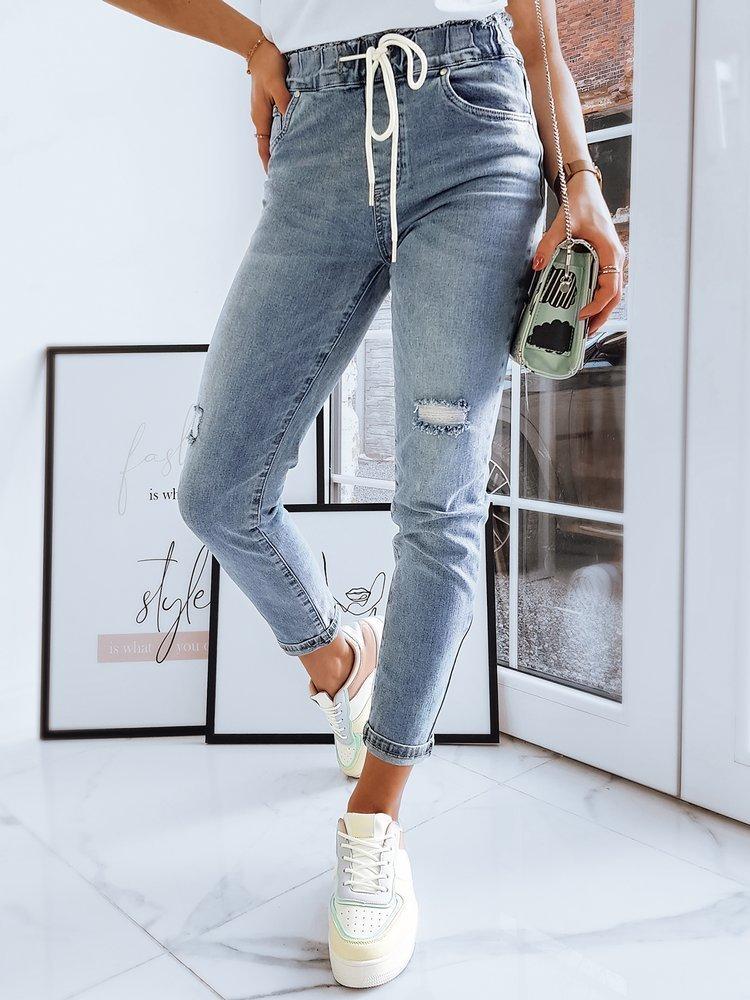 Spodnie damskie jeansowe SAMMY niebieskie UY0724