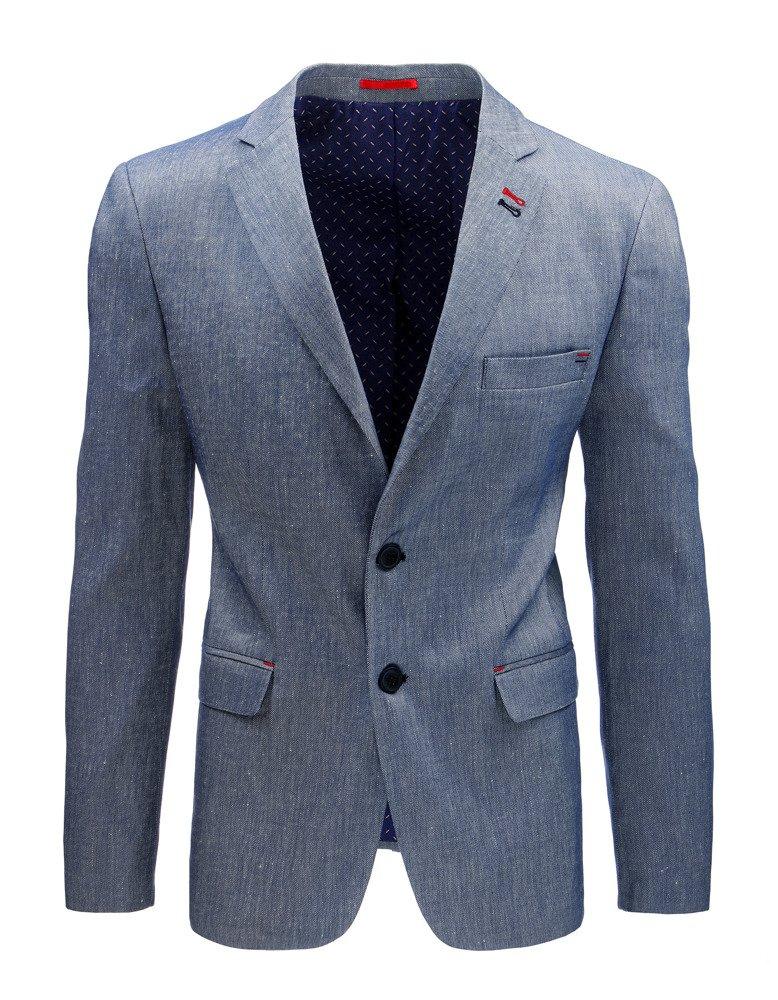 2288883751 Vyberte variant · Elegantné pánske sako svetlo modrá