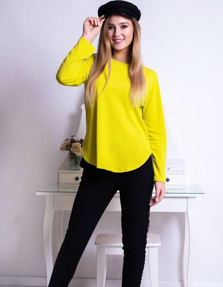 Bluzka damska KAYA limonkowa (ry0635)