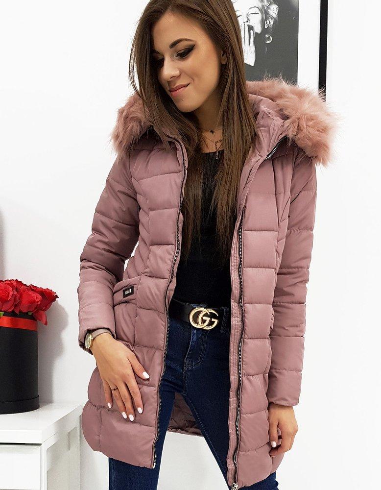 Dámska zimná bunda ružová