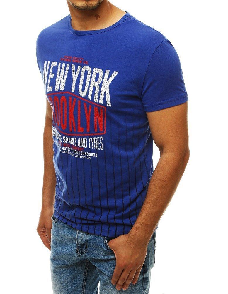 Pánske modré tričko RX4029