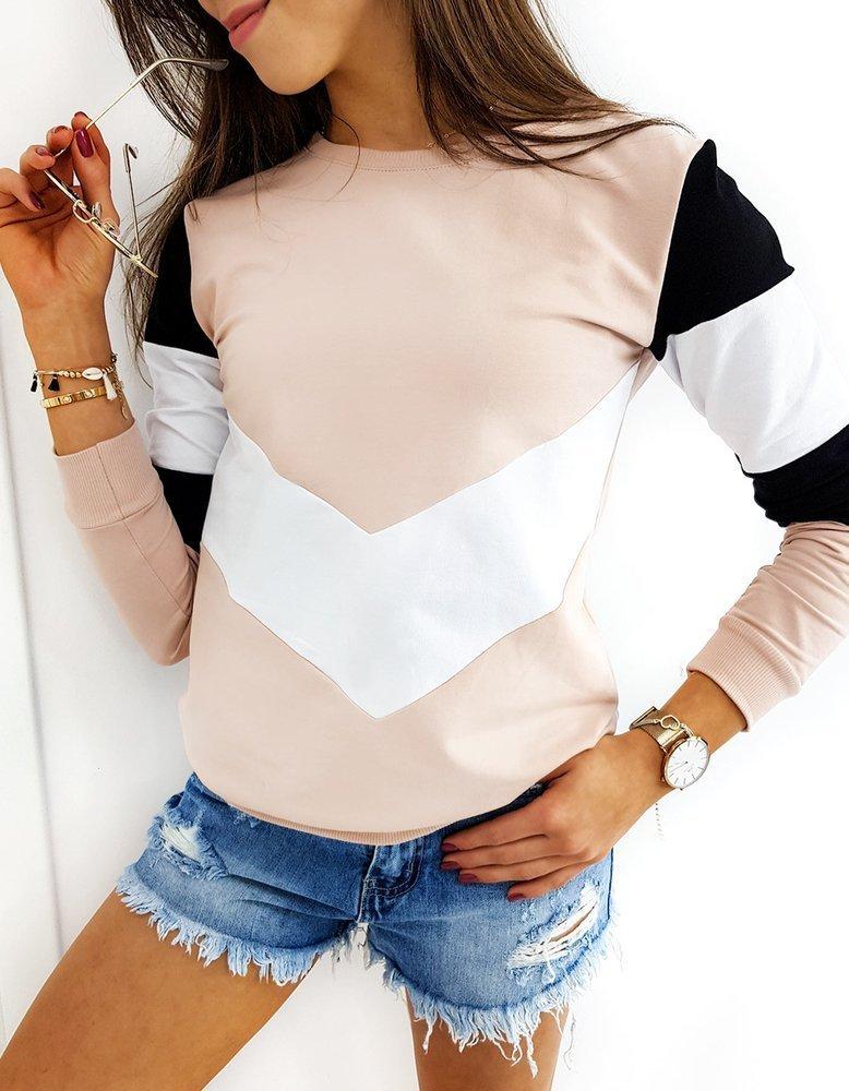 Bluza damska TRIOFLEX różowa BY0368