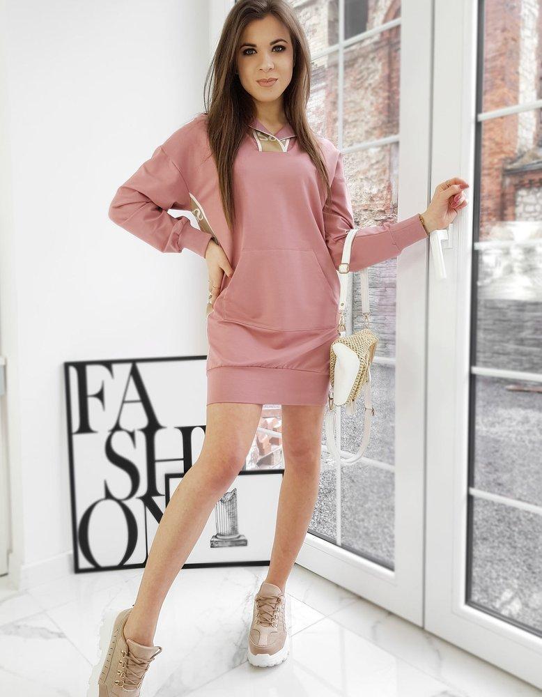 Bluza damska JASMINE różowa Dstreet BY0746