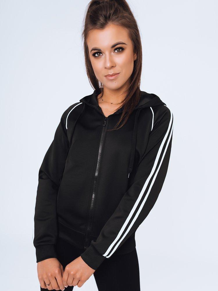 Bluza damska dresowa JERRY czarna Dstreet BY1005