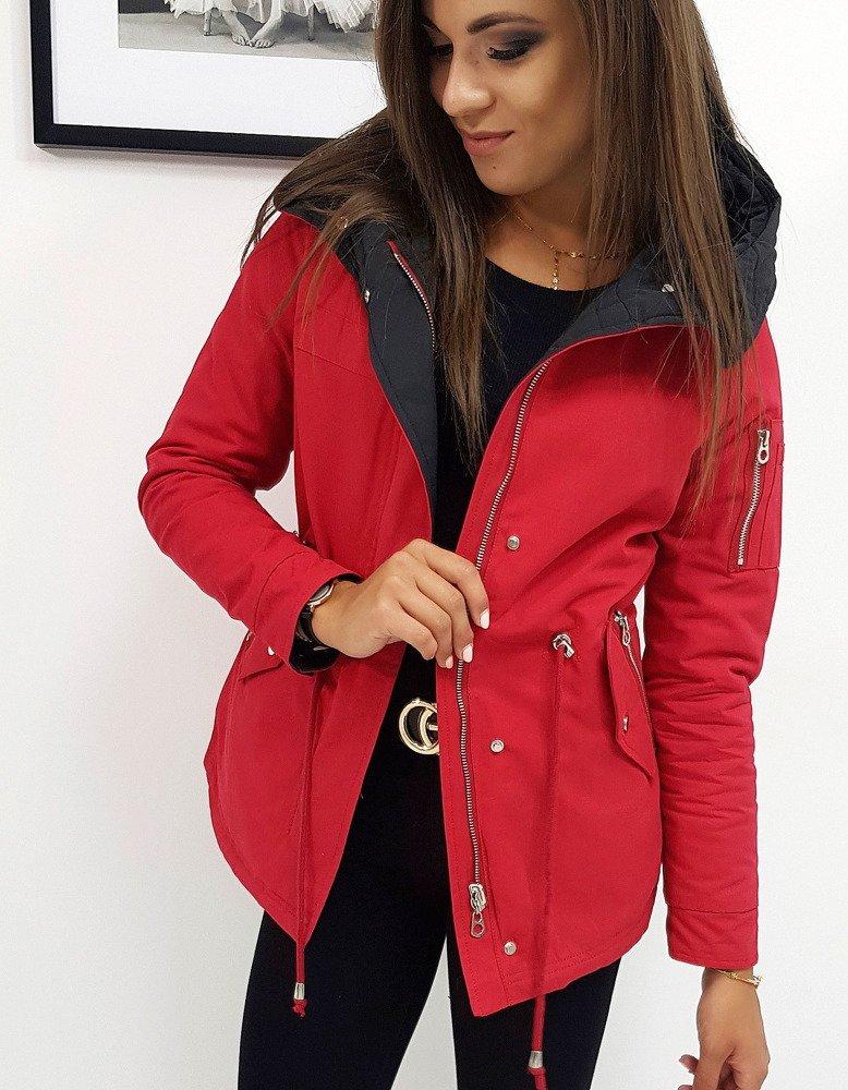 Obojstranná dámska bunda RENEE, červená