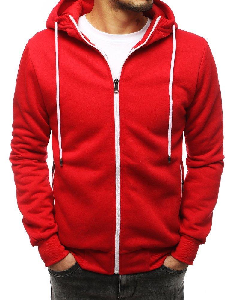 Panská mikina červená
