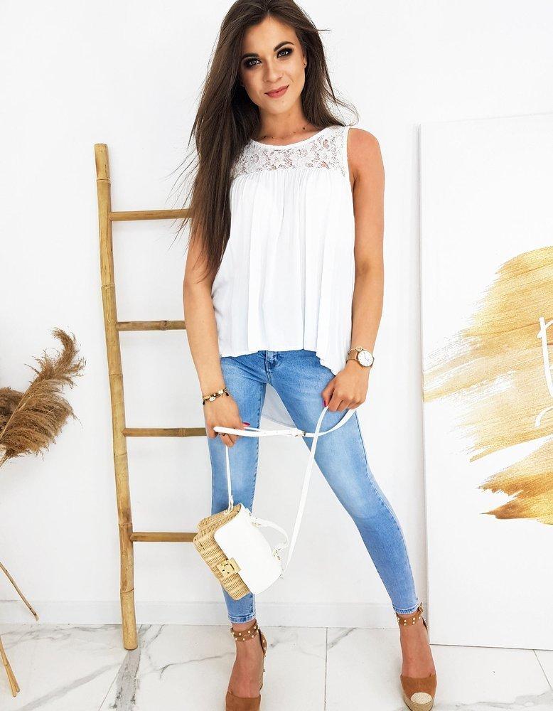 Bluzka damska FAROVITOS biała RY1396