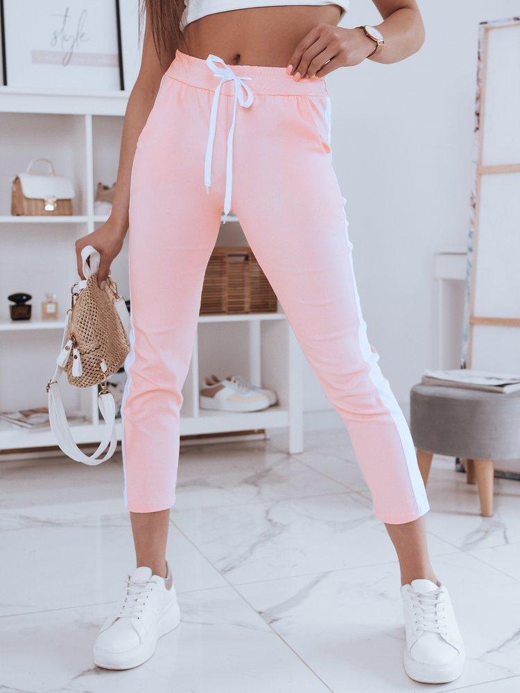 Spodnie damskie SUMMER DAY różowe UY0482