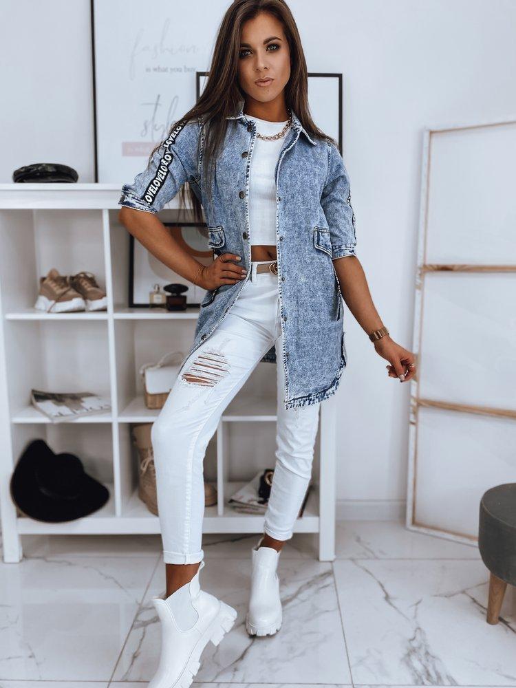 Kurtka damska jeansowa ANADIA niebieska Dstreet TY1713
