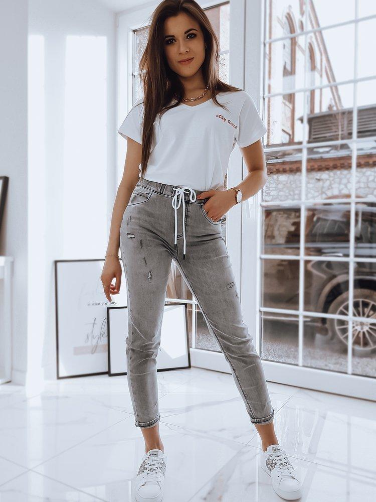 T-shirt damski STAY biały RY1591