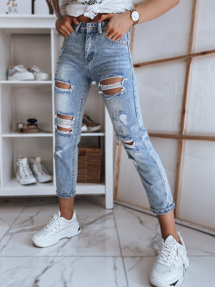 Spodnie damskie jeansowe JESSA niebieskie Dstreet UY0887