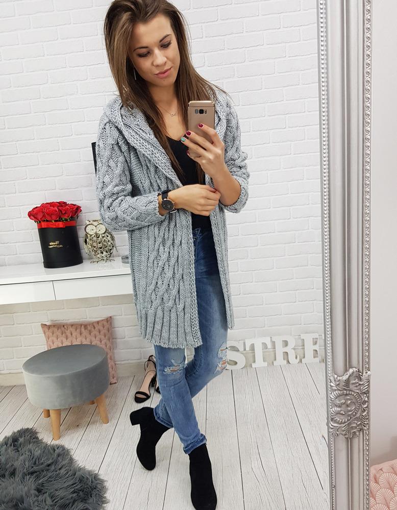 Dámsky dlhý sveter (my0477)