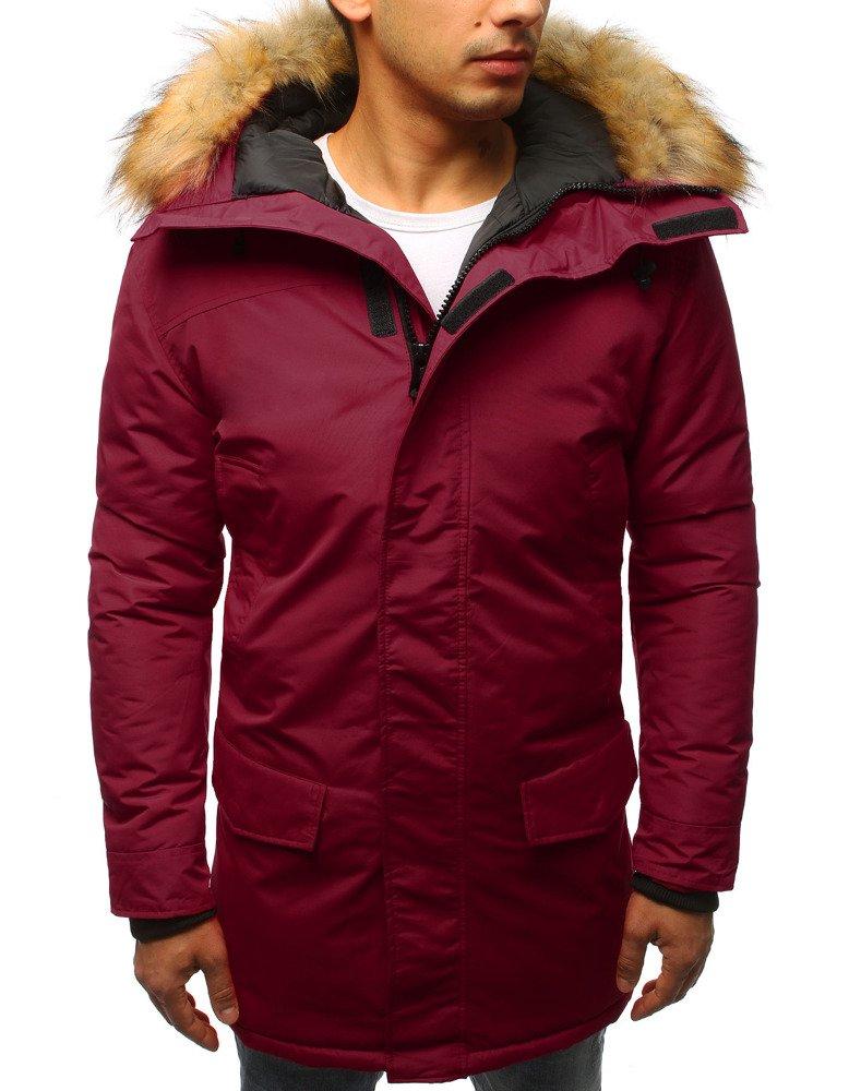 Bordová pánska zimná bunda (tx2439)