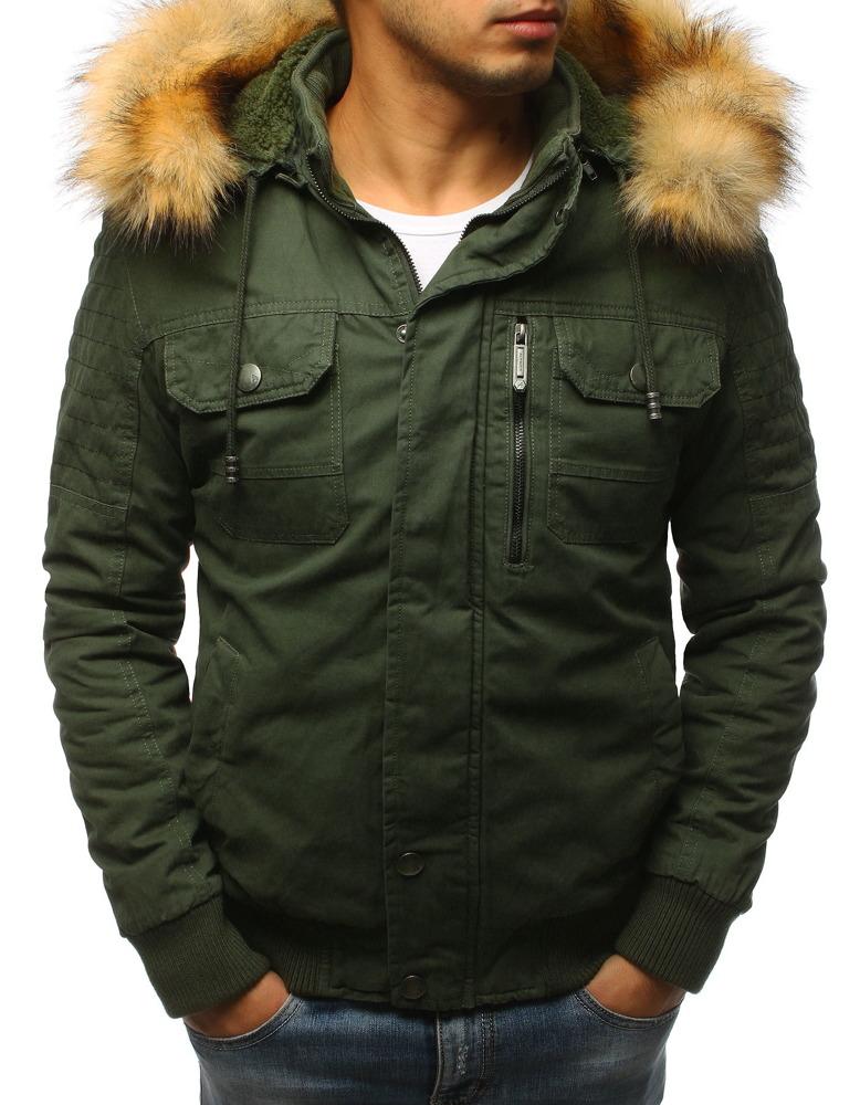 Zelená pánska bunda (tx2464)