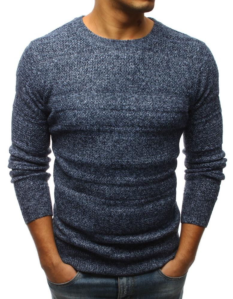 Modrý pánsky sveter (wx1263)