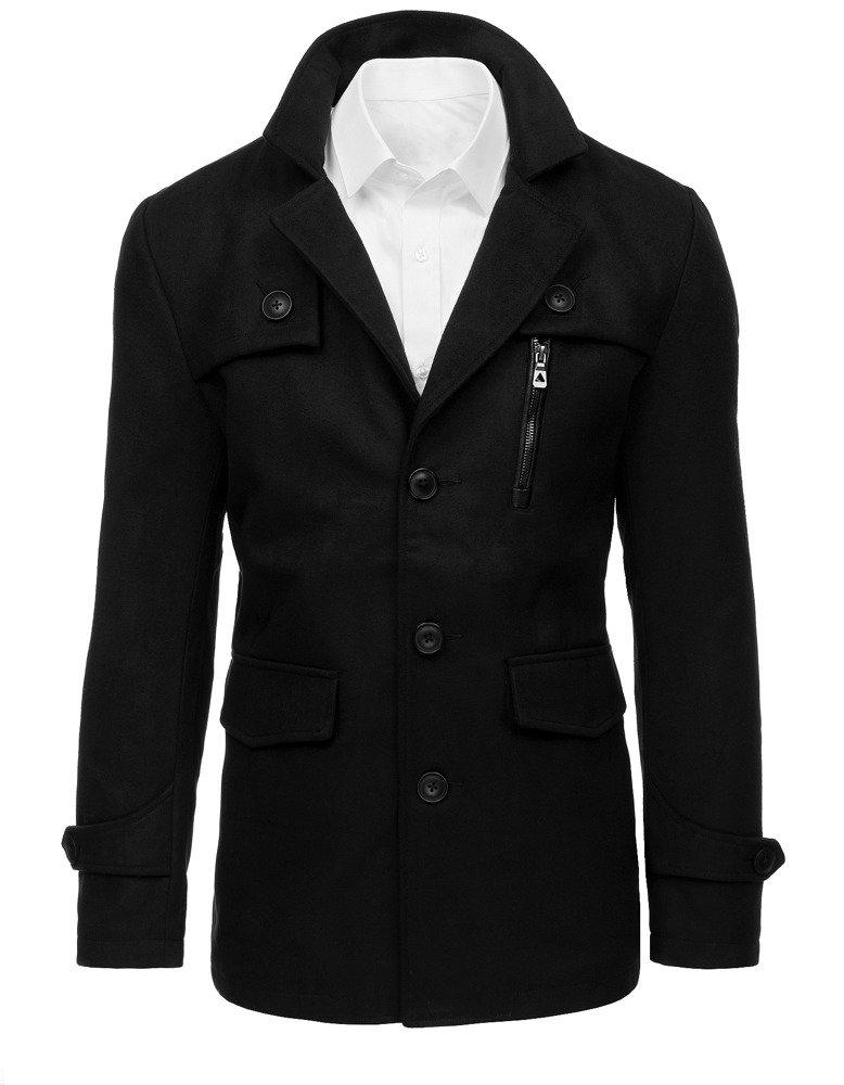 Čierny pánsky kabát