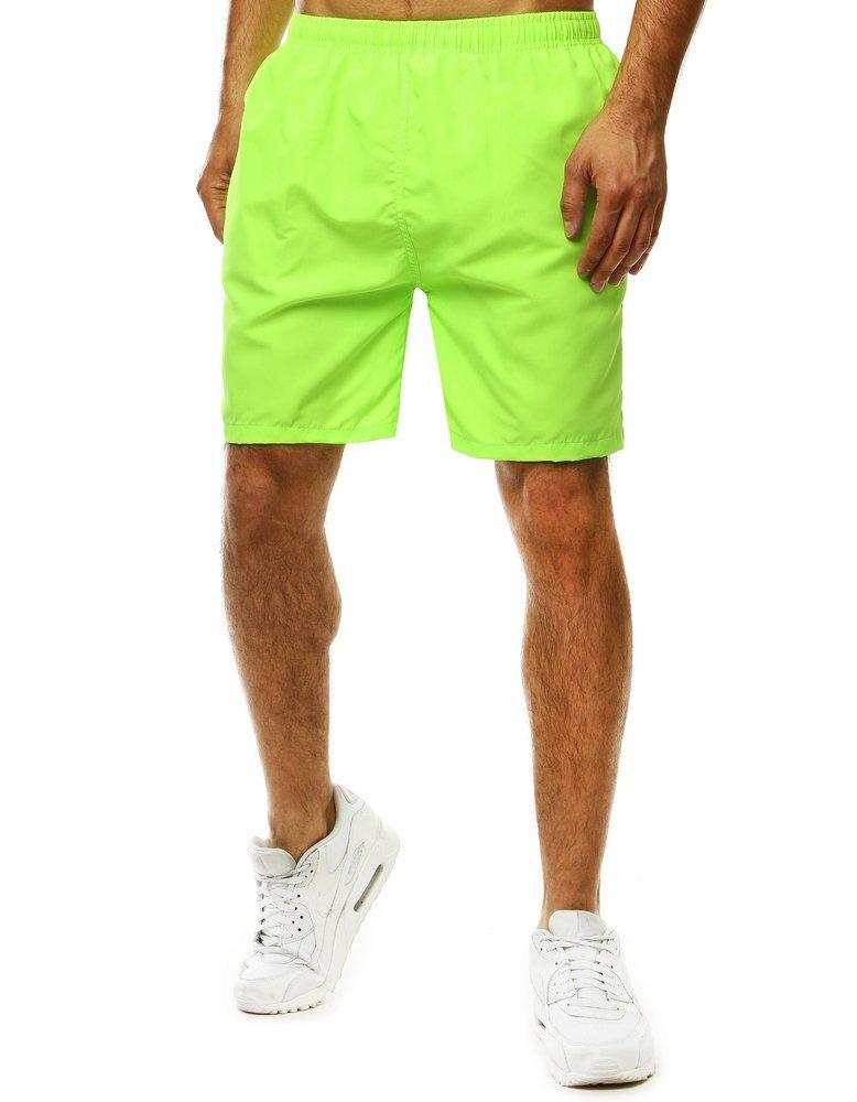 Pánske zelené kúpacie šortky SX2061