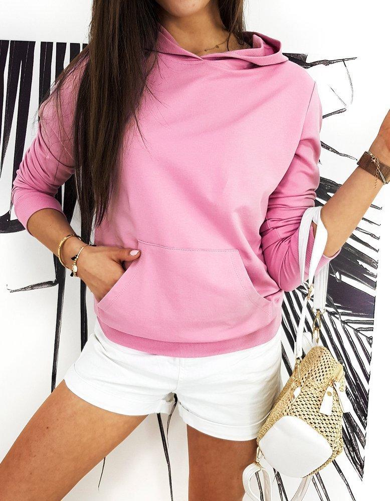 Bluza damska BASIC EVER różowa BY0383