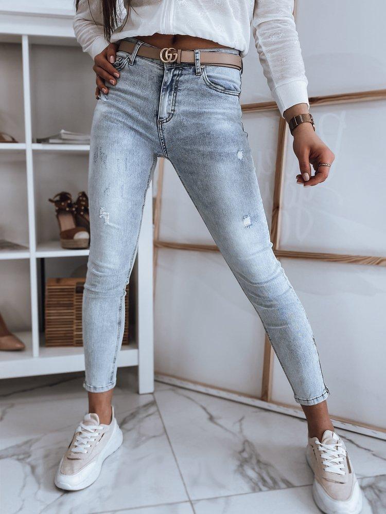 Spodnie damskie jeansowe JUSTY niebieskie Dstreet UY0856