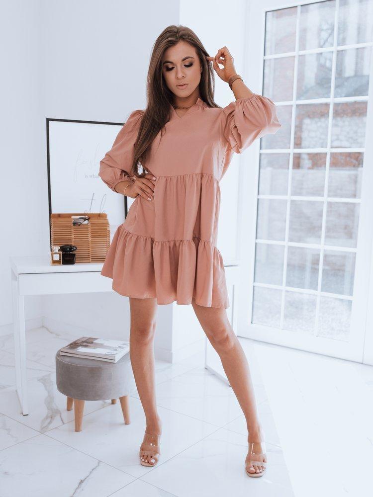 Sukienka SALLENTA brzoskwiniowa Dstreet EY1722