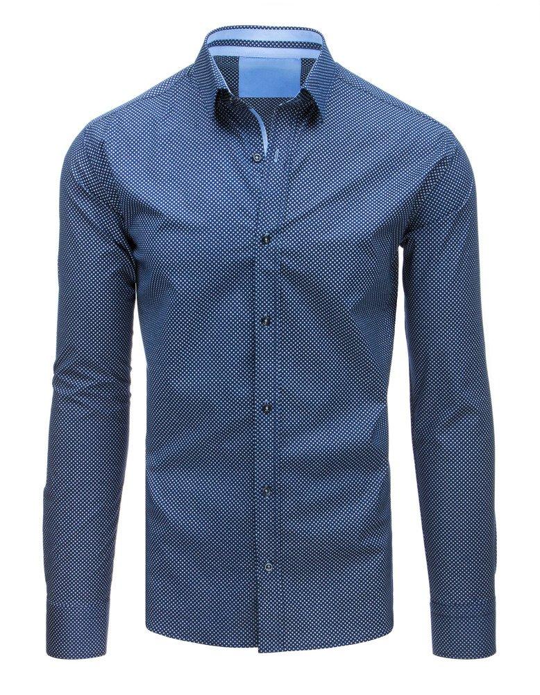dda45b8f1664 Elegantná košeľa svetlo modrá
