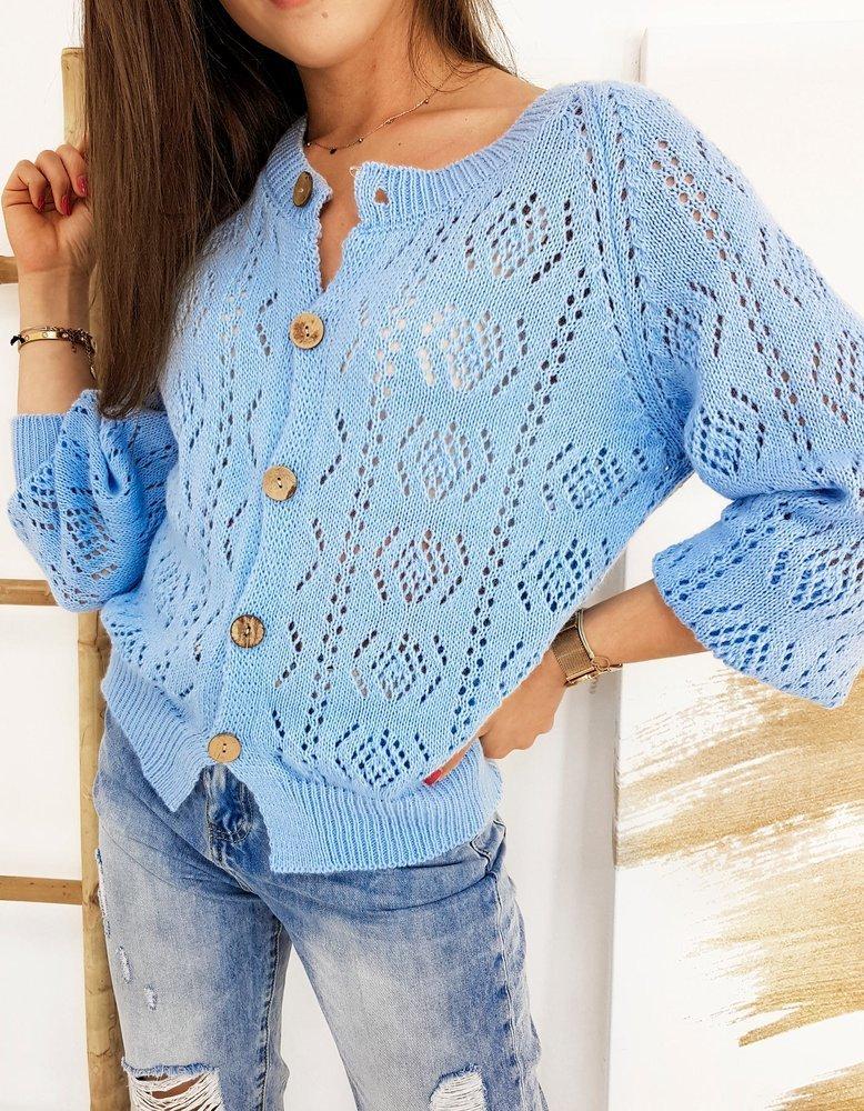 Sweter damski NATALIE błękitny Dstreet MY0776