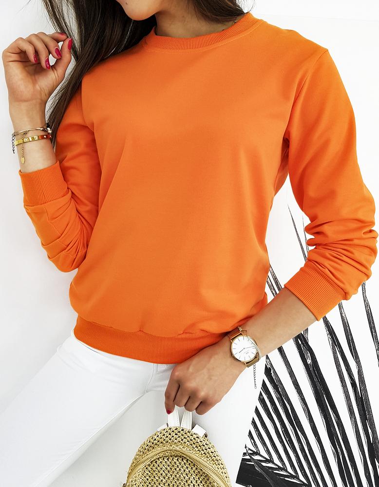 Bluza damska CARDIO pomarańczowa BY0426