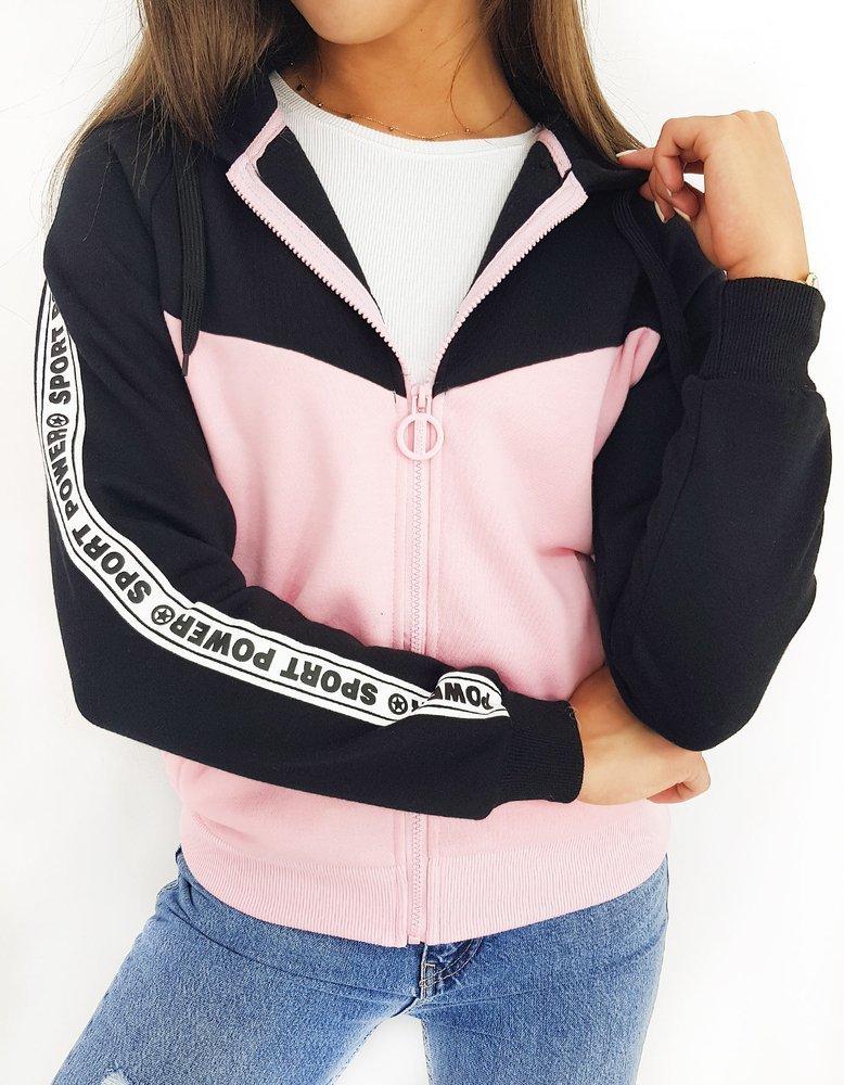 Bluza damska SPORT POWER różowa BY0446