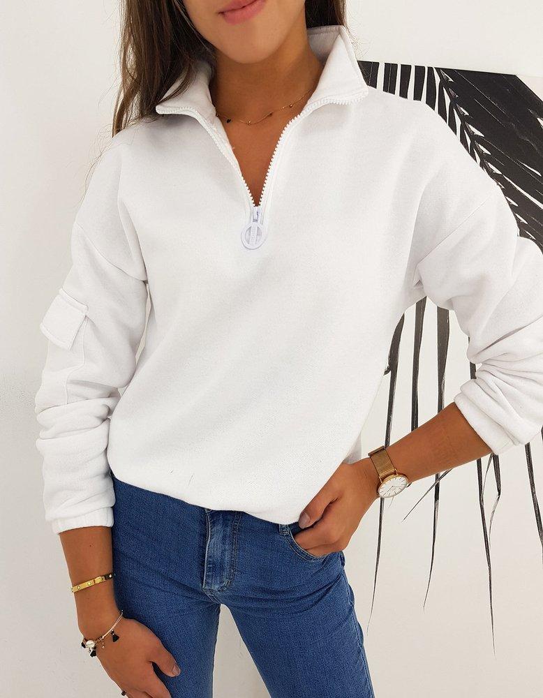 Bluza damska BLISS biała Dstreet BY0497