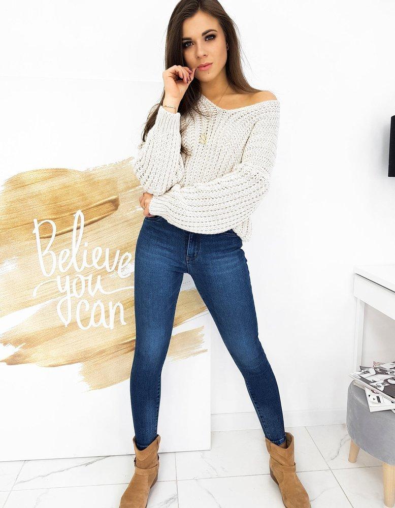 Sweter damski PRIMO beżowy MY0869