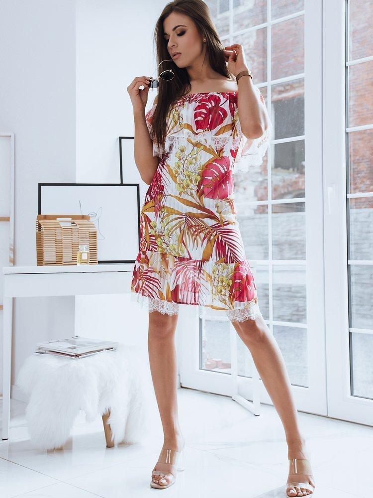 Sukienka hiszpanka LOSA biała Dstreet EY1525
