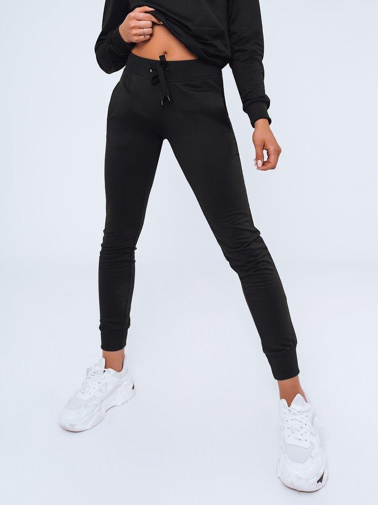 Spodnie damskie dresowe LARA czarne Dstreet UY0956