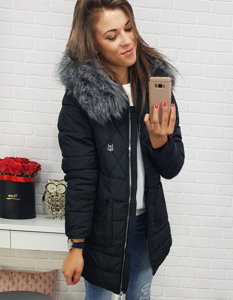 Dámska zimná bunda s kapucňou (ty0368)