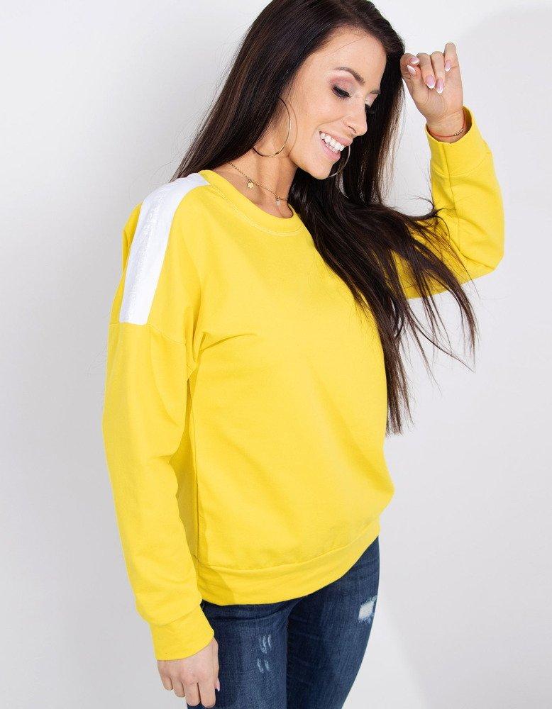 Bluza damska NEON żółta BY0179
